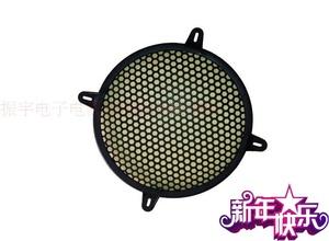新款8寸影音电器黑色音箱网罩中音汽车装饰DJ音响低音喇叭网
