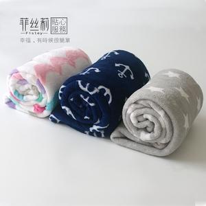 小孩小毛毯膝蓋毯辦公室蓋腿午睡毯蓋毯夏季兒童嬰兒單人珊瑚絨毯