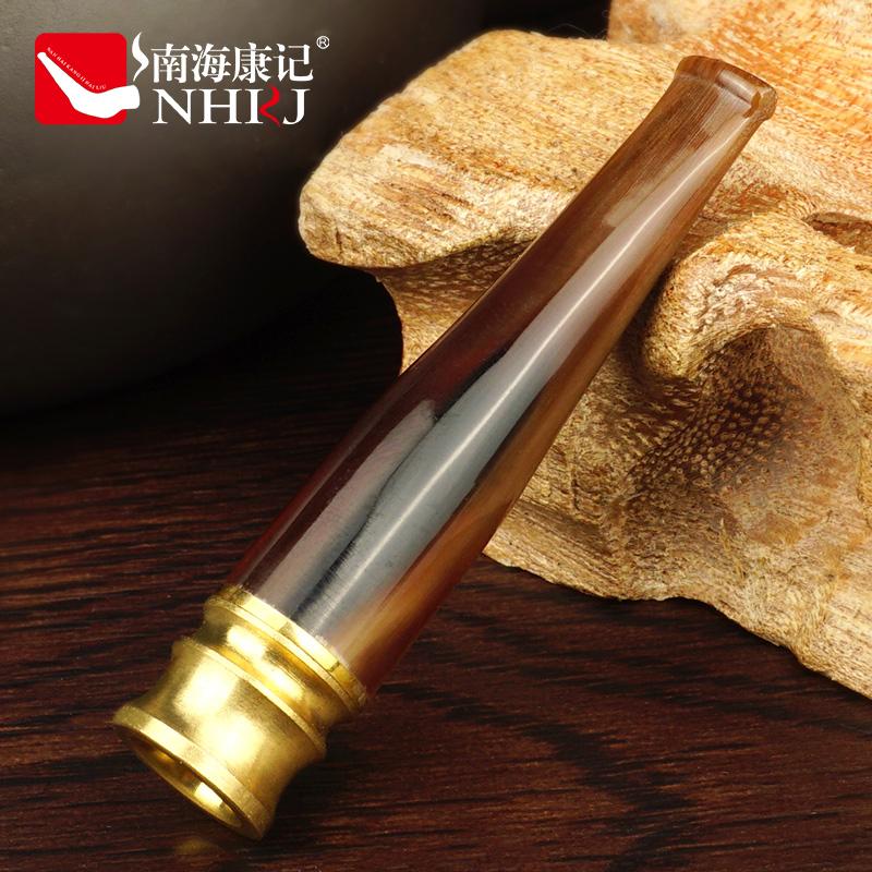 南海康記牛角煙嘴過濾器循環型過濾煙嘴可清洗男士健康吸煙過濾嘴
