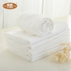 良良尿布 婴儿竹浆纤维尿巾新生儿纱布尿布宝宝尿巾宝宝尿布5条装
