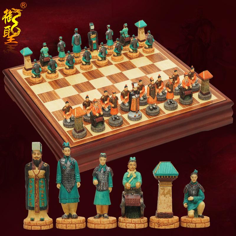 Имперский святой шахматы установите трехмерный характер моделирование ребенок шахматы chess китайский ветер западный кусок