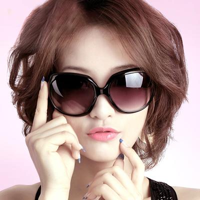 2015 женщин дамы ретро битник звезды солнце очки солнцезащитные очки УФ круглые лицо лягушки зеркало большой коробке