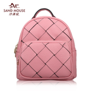 Beach mice fall/winter handbags 2015 new wave slim casual fashion leather women's bags shoulder bags