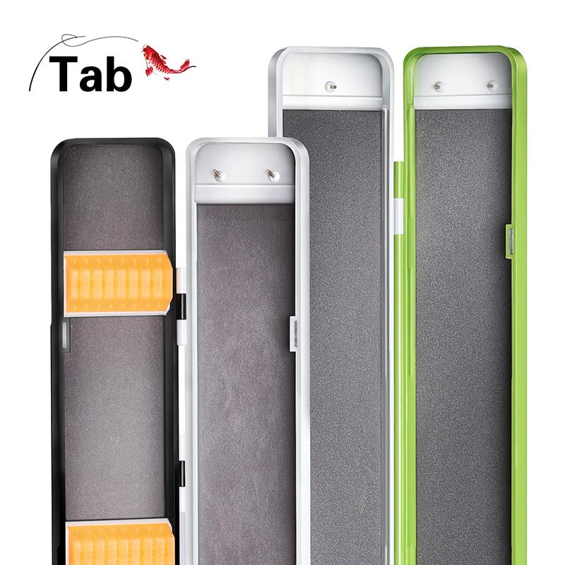 Tab競技子線盒單層釣魚仕掛雙層多層超薄魚漂盒 浮漂浮標加長漂盒