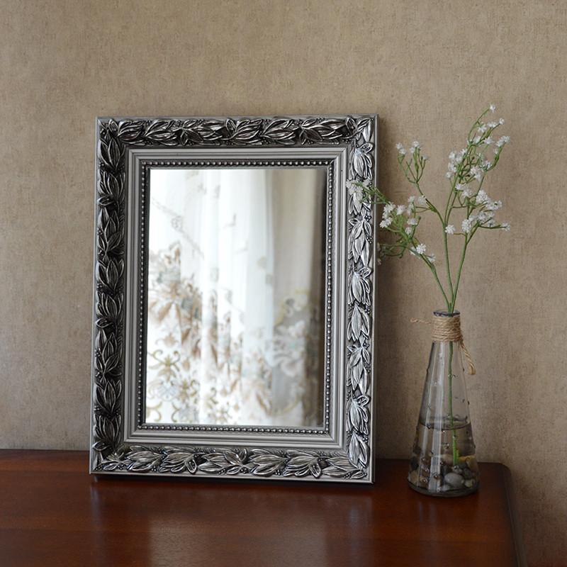 Континентальный спальня настенный зеркало комната с несколькими кроватями соус зеркало рабочий стол письменный стол аспект косметическое зеркало ванная комната инструмент позволять зеркало принцесса