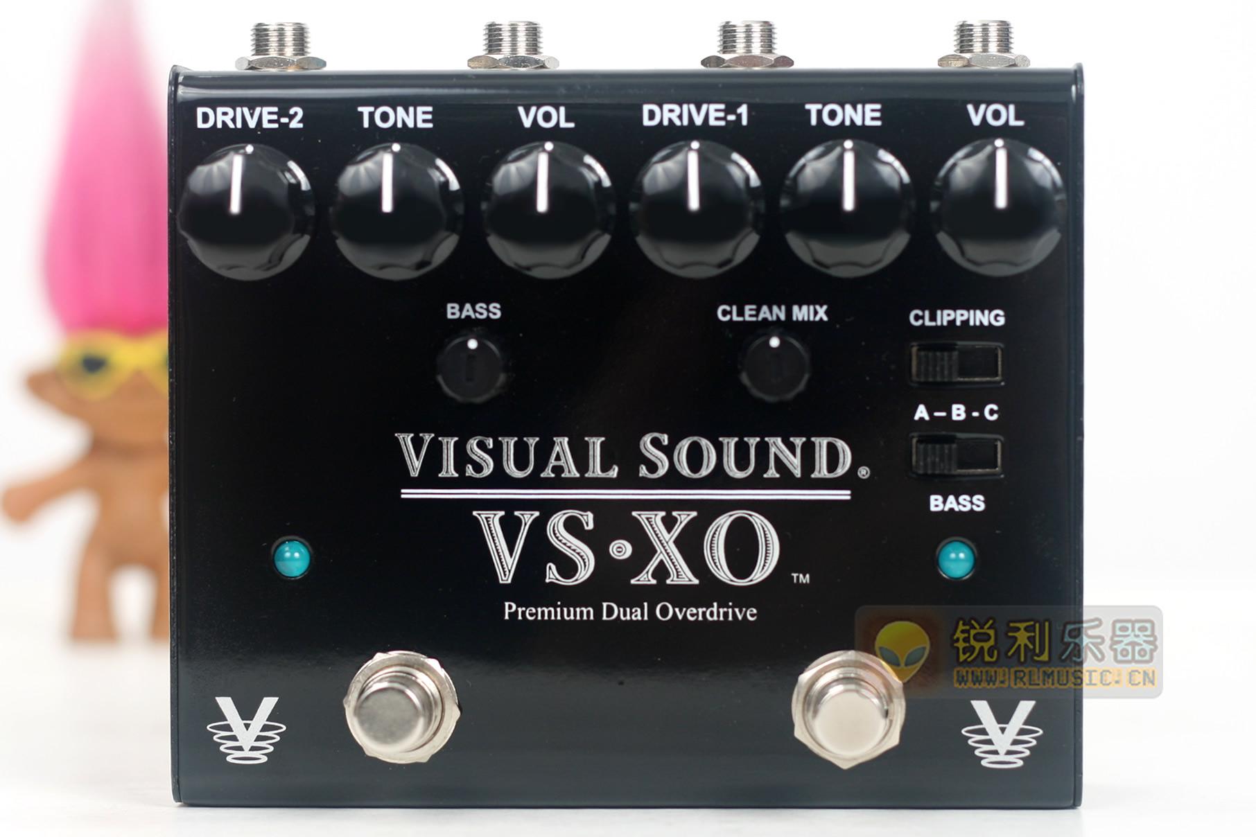 【Visual Sound VS-XO】独立双通道过载效果器【锐利乐器】