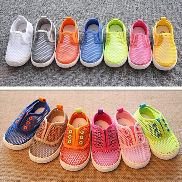 2015 году летняя Детская обувь чистая обувь мужчин и детей вырезать сандалии девочек мальчиков младенца девочек обувь Корейский волны новых