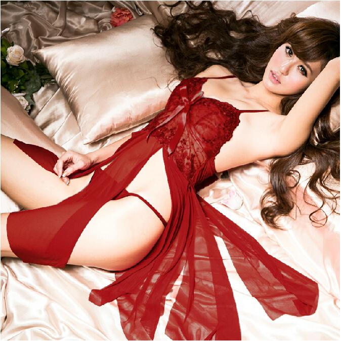 Электронной почте реальность Корсет прозрачный кружева женщин комбинезон Униформа ночная рубашка набор SM экстремальных искушение Сексуальное белье