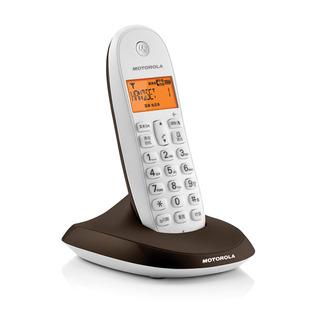 摩托罗拉家用数字无绳电话机欧式无线固话座机中文单机子母机包邮