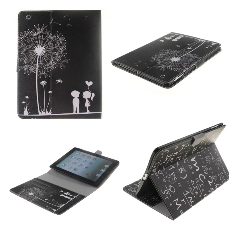 苹果iPad2皮套 iPad4保护套ipad3全包边超薄韩国防摔9.7寸平板壳