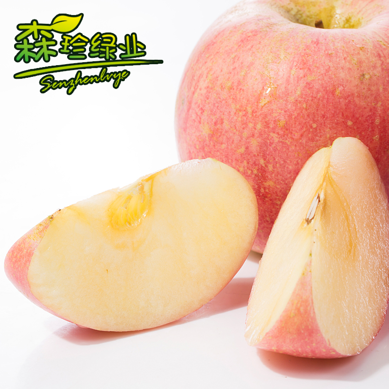 【森珍】 新鲜红富士苹果 水果苹果  5斤包邮
