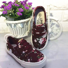 South Korean children's shoes babaya children canvas shoes for girls and elastic shoes broken beautiful girls shoes factory