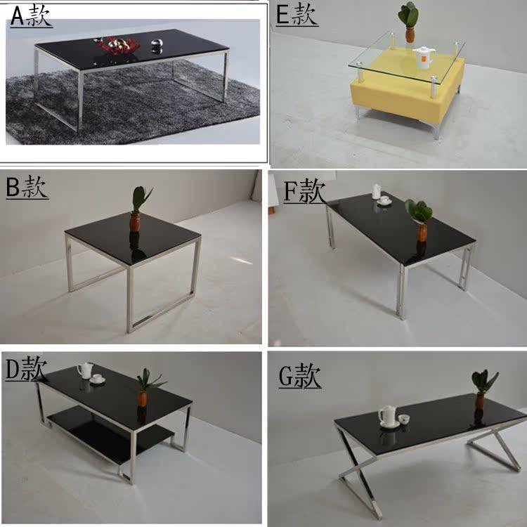 Офис кофейный столик 1.2 метров кофейный столик закалённое стекло нержавеющей стали кофейный столик