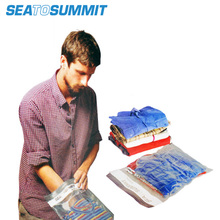 Sea to summit manual vacuum receive bag Without the vacuum pump and vacuum suction machine compression bag