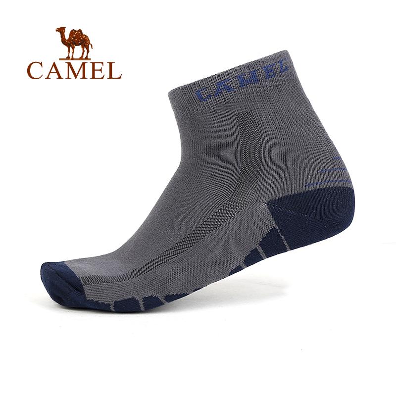 CAMEL駱駝戶外男款 襪 舒適透氣男士中筒襪子 男襪