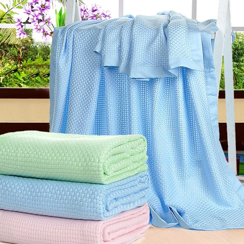 怡家誠品 竹漿纖維毛巾被兒童單人涼席夏雙人空調被薄床單厚蓋毯