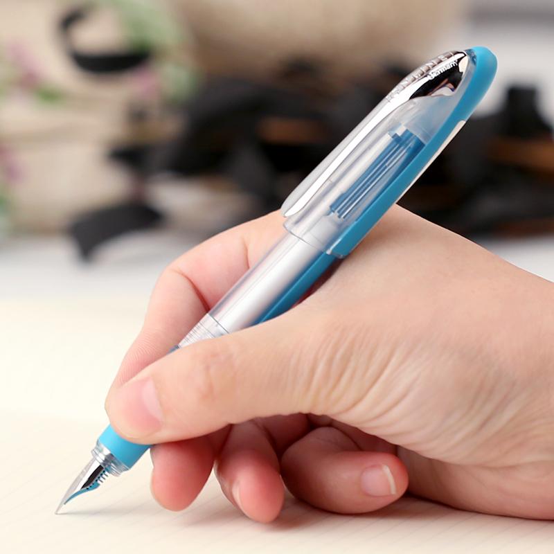 包邮送吸墨器德国Online欧领礼盒装学生正姿钢笔办公练字套装钢笔 小学生用钢笔 儿童练字钢笔套装 德国钢笔