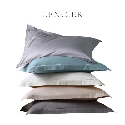 High grade lencier Lanxu is very comfortable to sleep. Pure wind a pair of pure cotton all cotton Nordic pillow cases