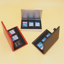 Memory card receive a SD card box of TF card sets of CF receive box memory card box card metal card package SIM card box package
