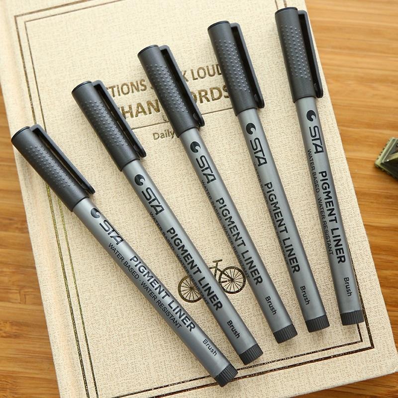 Три класса и два класса ● знак мягкой шерсти волокна слово Ручка с пером, с надписью водонепроницаемый