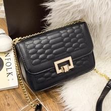 370  新款优雅小香风菱格链条包韩版时尚包潮流单肩斜挎包手提包