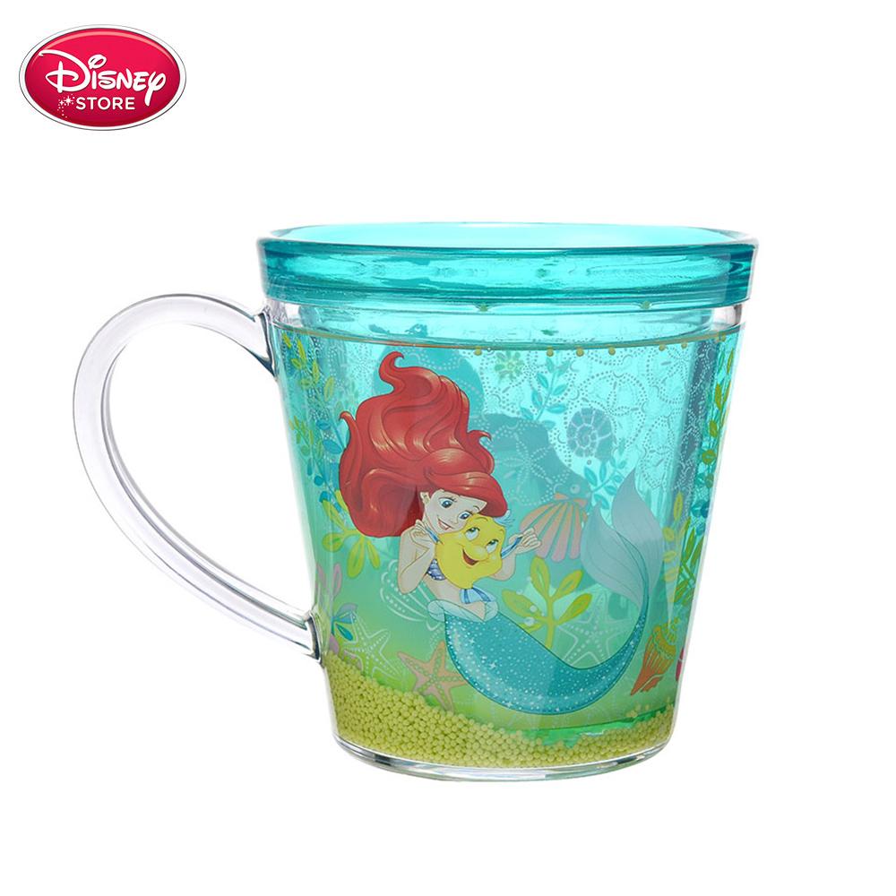 迪士尼商店 Disney Store 公主 美人魚愛麗兒藍色趣味水杯