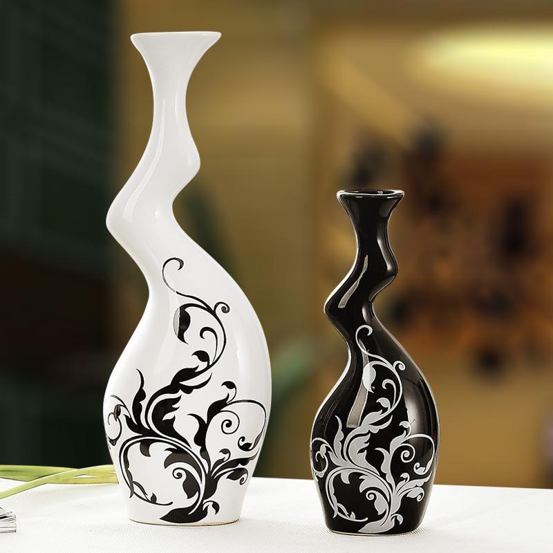 景德鎮 簡約花瓶家居裝飾品客廳 電視酒櫃陶瓷工藝品擺件