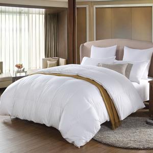 康尔馨 羽绒被冬被加厚五星级酒店加厚被子90%白鹅绒被芯单双人