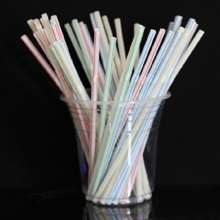 Cheap bent straw straw 0 5cm 18 8cm disposable plastic pipette wholesale environmental protection