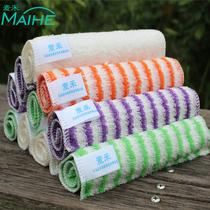 厨房抹布竹纤维不易沾油吸水家用擦桌布家务清洁油利除洗碗巾抹布