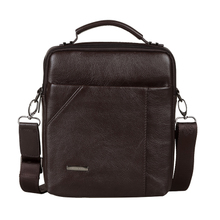 Inclined bag, men's bags belt cowhide restoring ancient ways is han edition computer sidekicks new multi-functional small zipper 8 inches in men