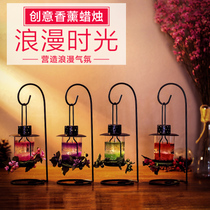 Romantic Aromatherapy Candle Table Candlelight Dinner props European aromatherapy to taste warm gadgets