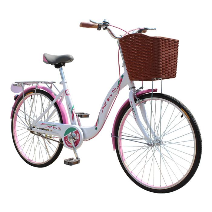 11-20新券台湾暇步士xbs自行车女式24/26寸淑女车 芭蕾优雅女士单车包邮zxc