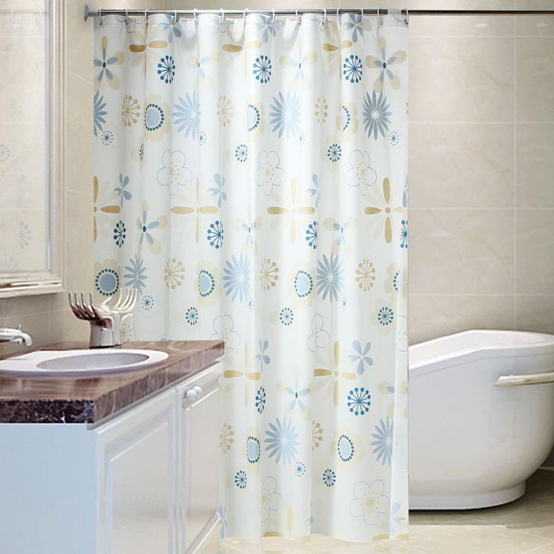Высококачественный занавески для душа ткань утолщённый геометрическом плесень занавески для душа ткань ванная комната занавес отрезать занавес сын вешать занавес занавески для душа установите