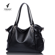 2015 fall/winter leisure in Europe and America: new leather shoulder bag big bag handbag leather women bag fashion ladies bag