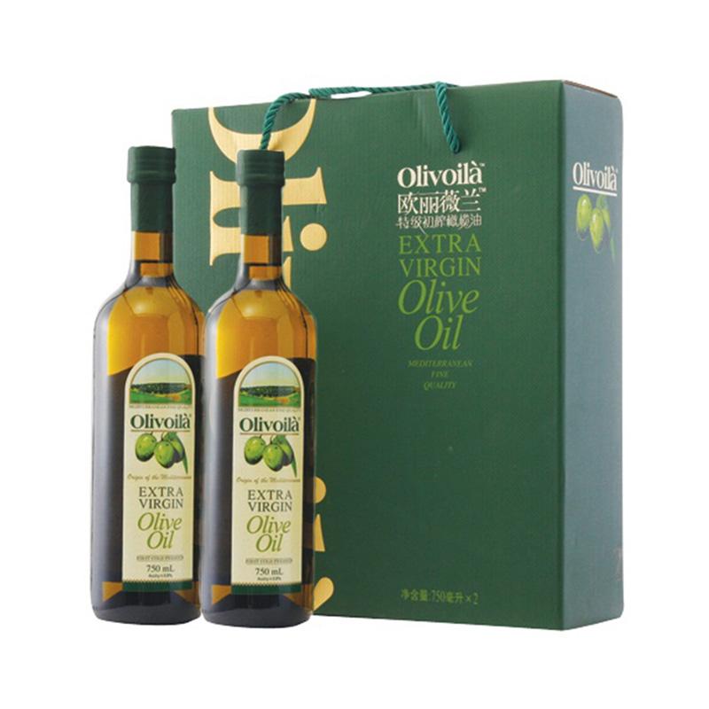 歐麗薇蘭 特級初榨橄欖油簡裝 750ml~2 食用油