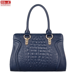 Show packs a new European and American fashion leather women bag 2015 winter shoulder slung bags trend bags women