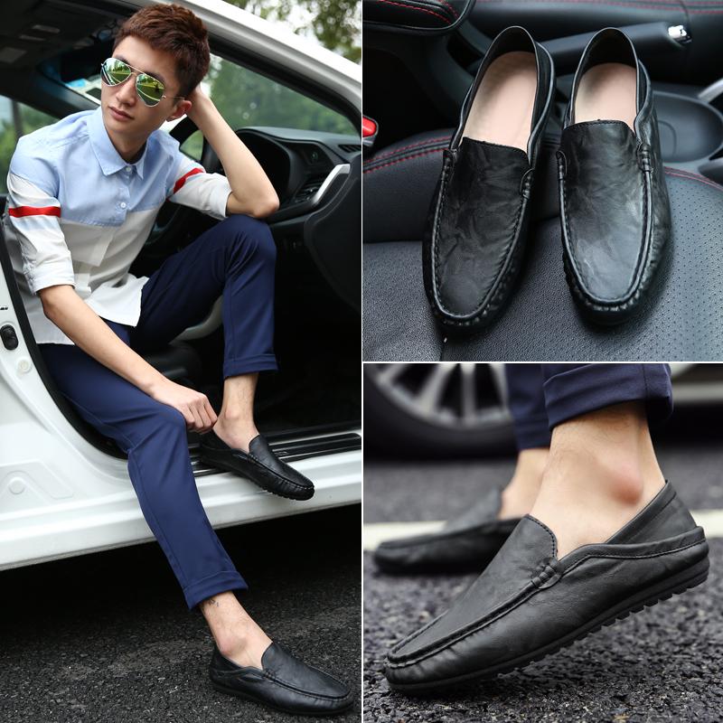 2016 Весна Новый корейский человек Дуг обуви ноги мужчины дышащей обуви обувь мокасины вождения обувь