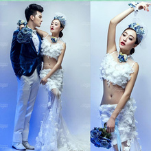The new exhibition 2015 studio theme wedding photography clothing Wedding dresses couples sexy photo a men's clothing