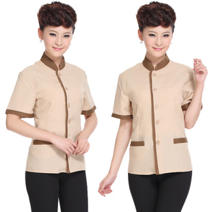 Hotel room hotel property cleaning clothes short-sleeve summer female short-sleeved overalls cleaners cleaning uniforms