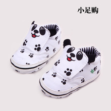 Small enough for a toddler shoes foreign trade cotton antiskid lovely panda baby shoes for men and women soft bottom in the spring and autumn shoes