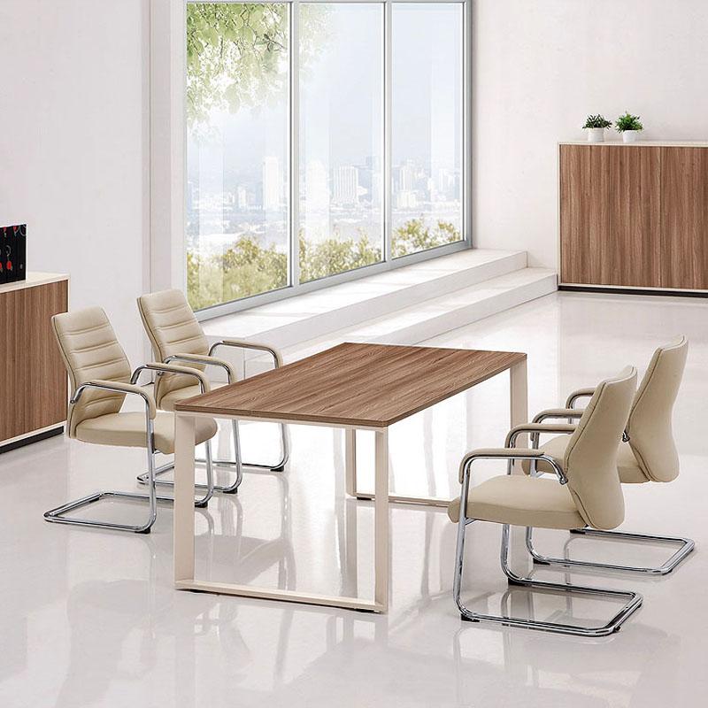 Weihao Мебель стол стол стол простой 1,8 м полосатый Форма стола, конференц-зал, учебный стол, длинный стол