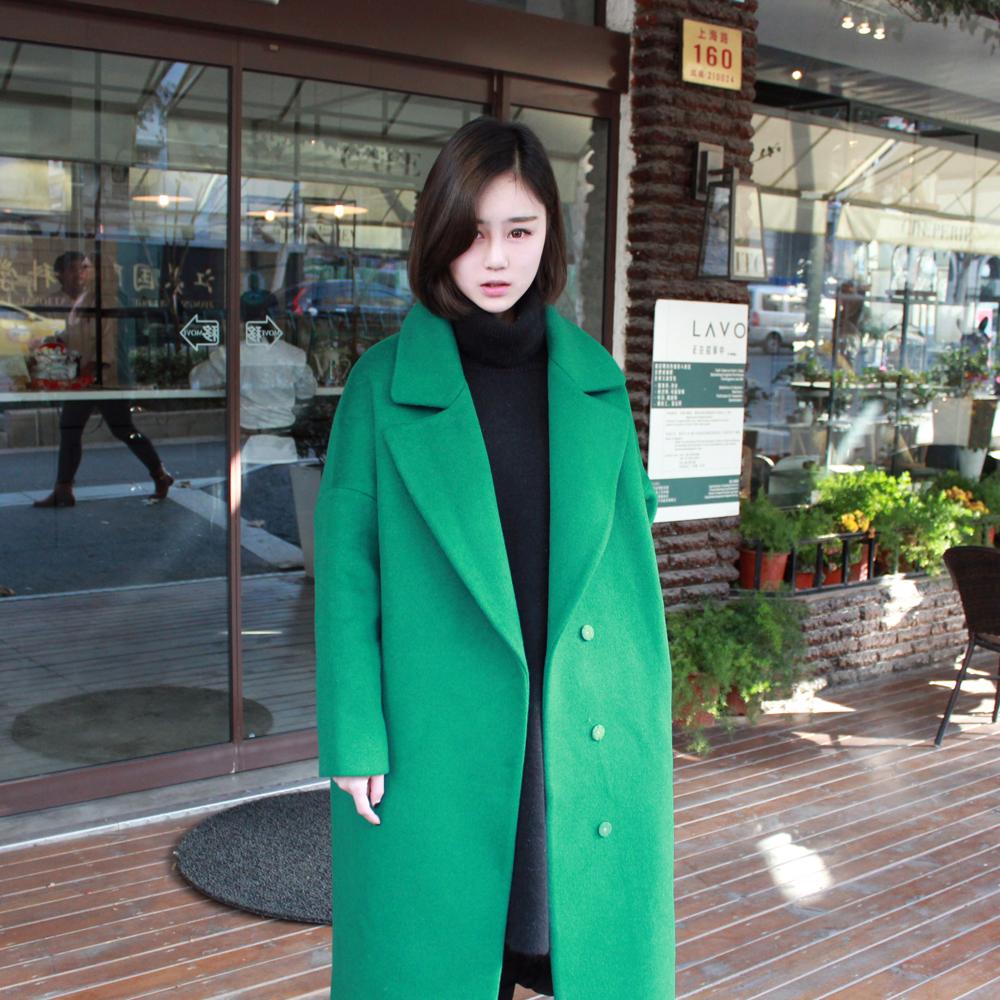羊绒茧型大衣