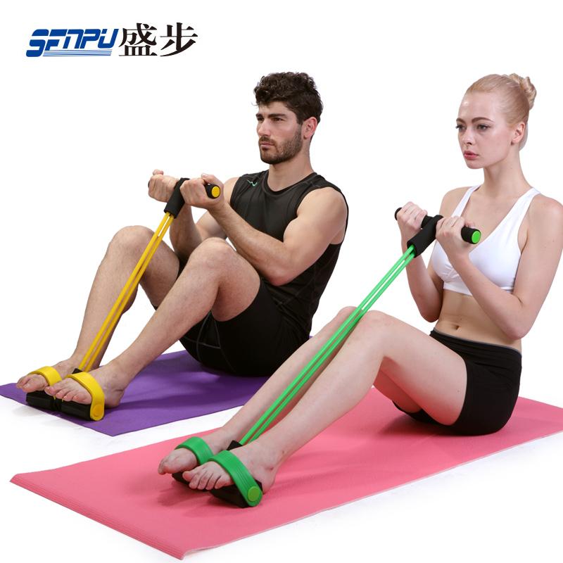 仰臥起坐器材家用 拉力器健身減肚子瘦腰神器收腹肌訓練器