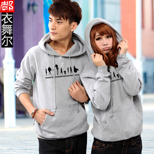Piece Hitz couple sweater men and women thicker winter casual jacket sweater students personality