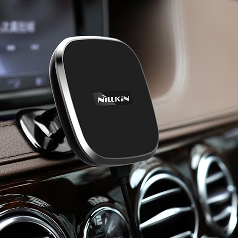 耐尔金 三星S8+无线充电器S7苹果iphone7 6s手机磁吸支架无线充电