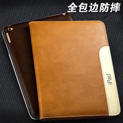 苹果iPad2 iPad3 iPad4保护套全包边超薄休眠皮套平板保护壳韩国