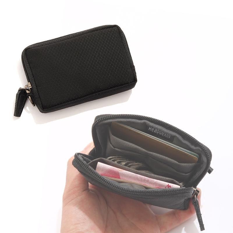 新品潮牌男女手拿零钱包菱格暗纹硬币包卡包Card package可放口袋