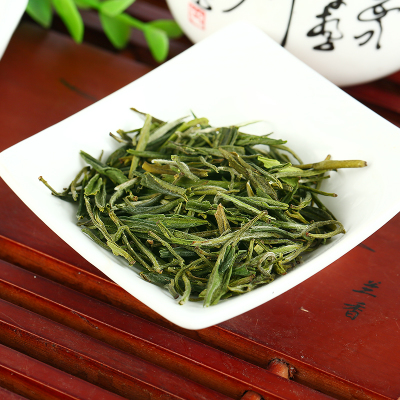 Fairy product showers huangshan maofeng tea tea 2015 fresh tea Remarkably high mountains 250 g hardcover luzhou-flavor organic green tea