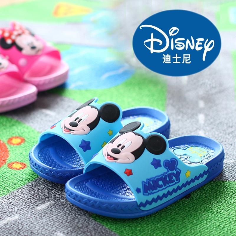 迪士尼酷趣兒童涼拖鞋男童女童防滑寶寶小孩米奇公主可愛拖鞋
